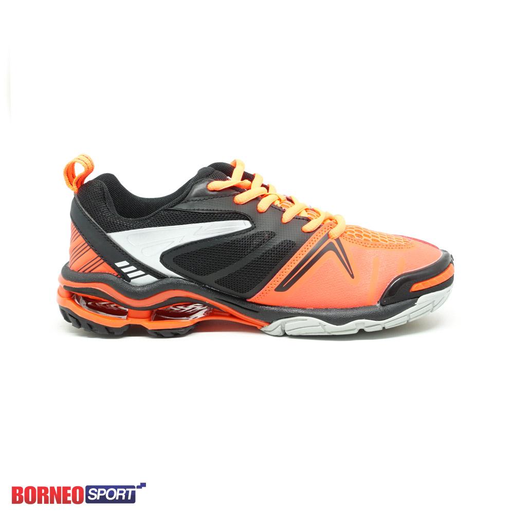 Sepatu Badminto Volley Mitzuda Star Light New Orange Original 111 Voli Professional Amit001129